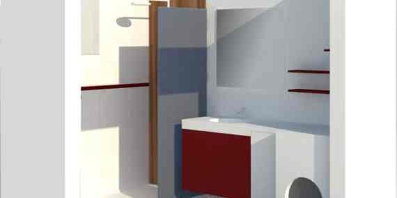 Rénovation salle de bains - Perspective