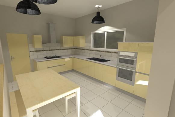 Colorimétrie de la cuisine