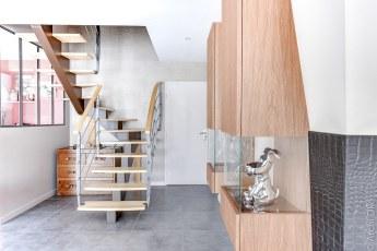 Salon - Escalier