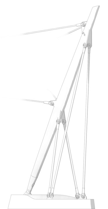 Canopy Support Column - Revit Model Detail