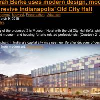 Deborah Berke uses modern design, modern art to revive Indianapolis' Old City Hall