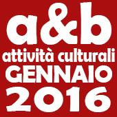 Attività culturali gennaio 2016