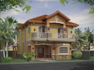 cute design of house