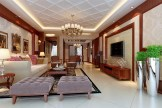 White-ceiling-design-tyle-living-room