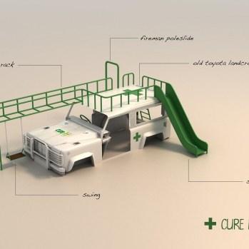 design-transformation-dune-carrosserie-dambulance-en-aire-de-jeux-pour-enfants-a-lhopital-au-malawi-1
