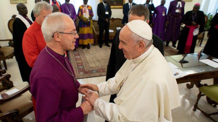 Covid : l'archevêque de Cantorbéry souhaite voir les chrétiens unis