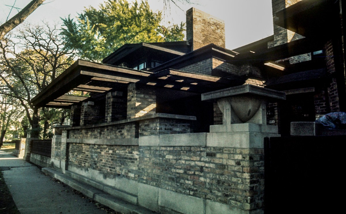 Frank Lloyd Wright Residence and Studio. Ruth and Rick Meghiddo, 1971. All Rights Reserved.