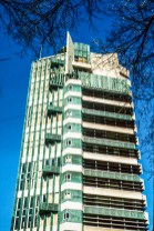 Price Tower. Ruth and Rick Meghiddo, 1971. All Rights Reserved.