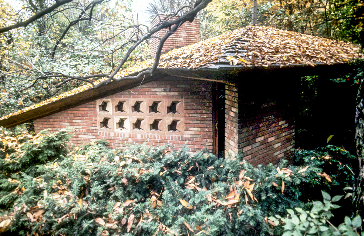 Palmer Residence. Ruth and Rick Meghiddo, 1971. All Rights Reserved.