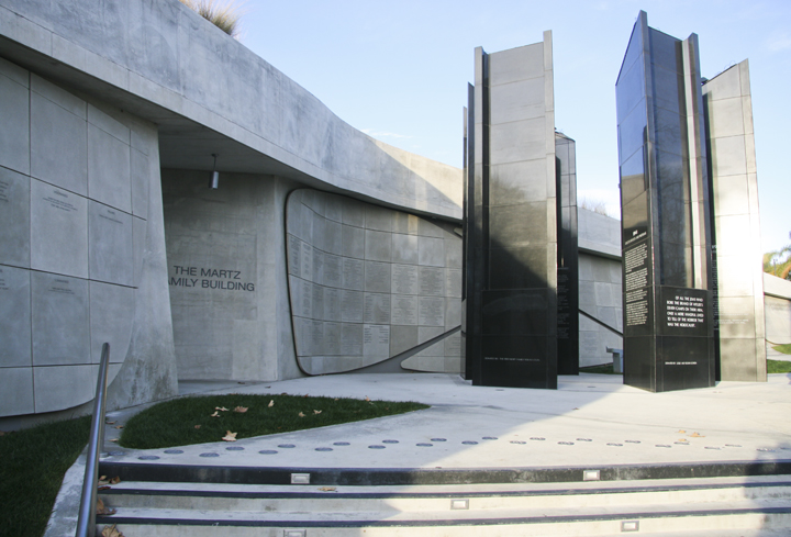 Los Angeles Museum of the Holocaust. Ruth and Rick Meghiddo, 2012. All Rights Reserved.