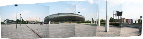 NET Stadium, Budapest.Copyright Ruth and Rick Meghiddo, 2010. All Rights Reserved.