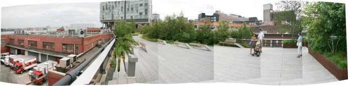 The New York High Line. Ruth and Rick Meghiddo, 2010. All Rights Reserved.