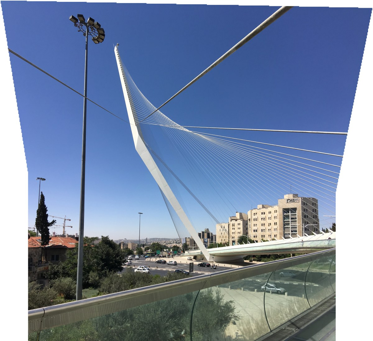 Chord Bridge, Jerusalem. Copyright Ruth and Rick Meghiddo, 2016. All Rights Reserved.