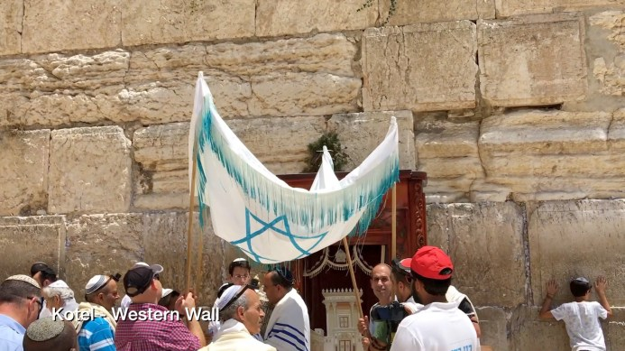 Kotel - Western Wall. Copyright Ruth and Rick Meghiddo 2016 - All rights reserved.
