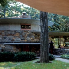 "Sol Friedman House, ""Toyhill,"", Pleasentville, New York, 1948. Photo: R&R Meghiddo R&R Meghiddo, 1971, All Rights Reserved."