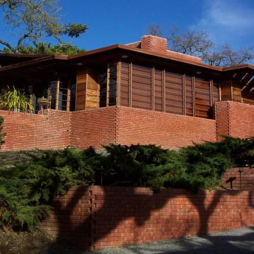 "Hanna House, ""Honeycomb,"" Stanford, CA, 1937-1962."