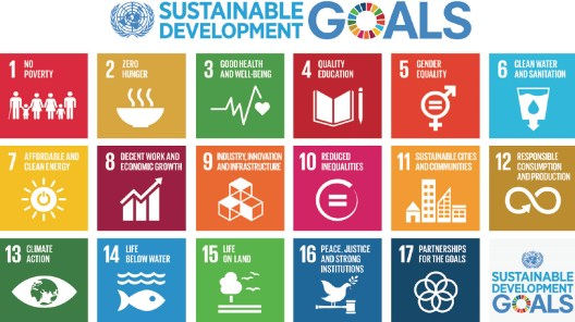U.N. Sustainable Development Goals, 2016,