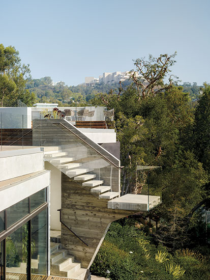 The Barrington Residence, Brentwood, Los Angeles. Architect: Eric Rosen.