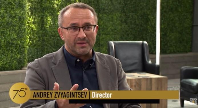 Director Andrey Zviyagintsev