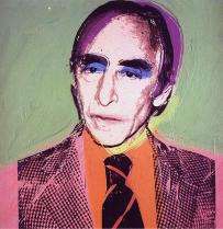 Leo Castelli by Andy Warhol