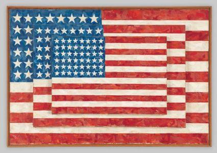Jasper Johns - Flags, 1958
