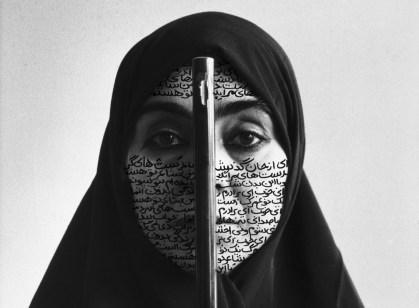 Shirin Neshat, Rebellious Silence, 1994