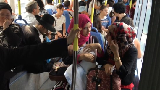 Jerusalem: multi-culturalism in a every ride