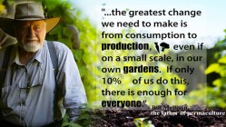 Bill Mollison and Permaculture