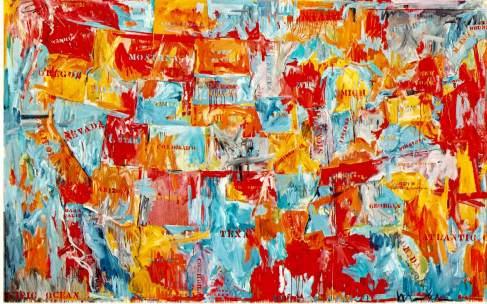 Jasper Johns - Map