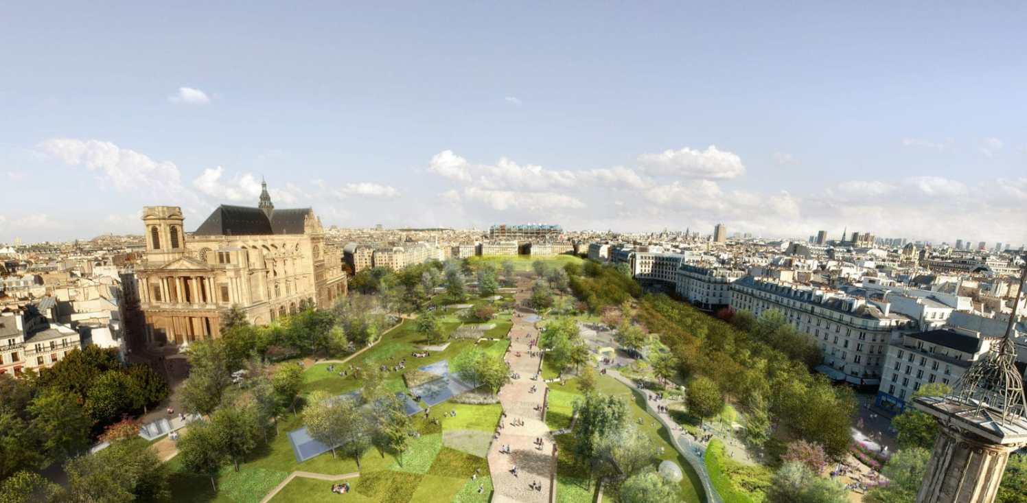 Design: Seura Architectes - General View.