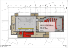 Theater area - Courtesy of RPBW