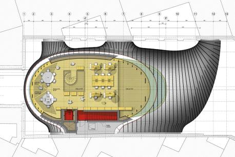 Upper floor - Courtesy of RPBW