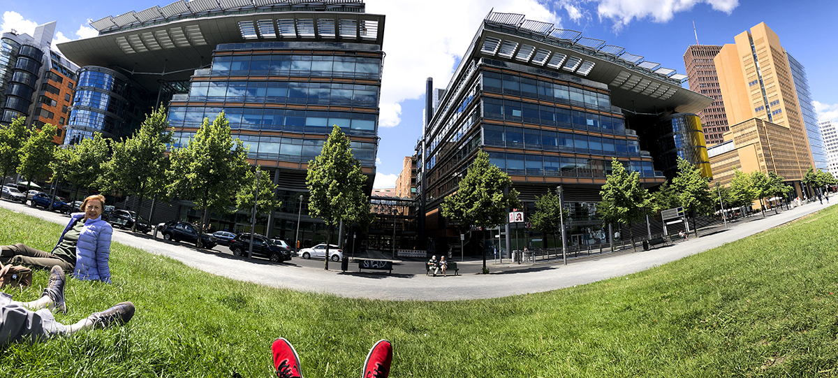 Potsdamer Platz - Mixed-use - Architect: Richard Rogers. © R&R Meghiddo, 2018. All Rights Reserved.