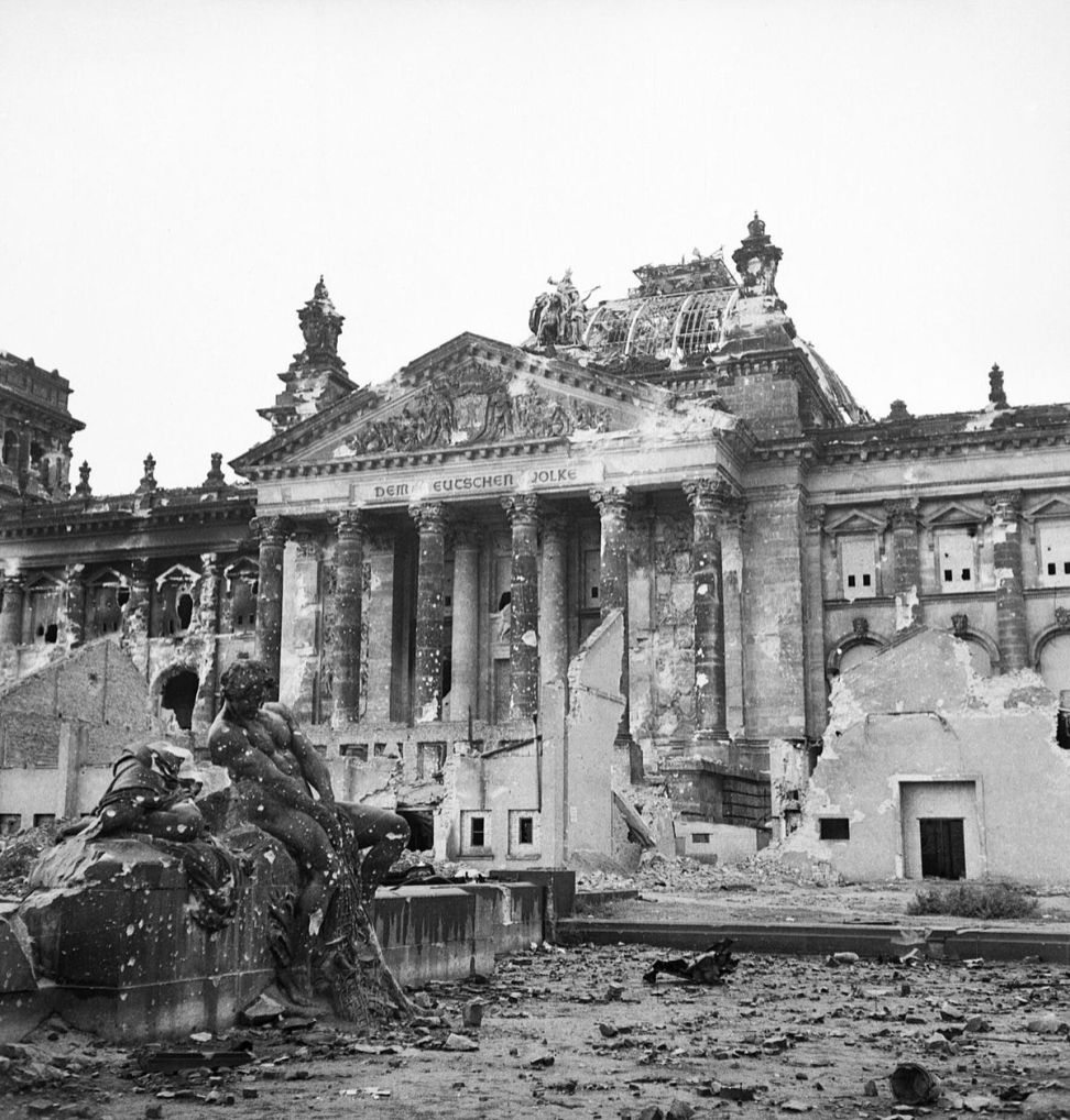 Ruins of the Reichstag