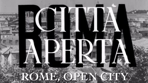 Rossellini's Rome, Open City