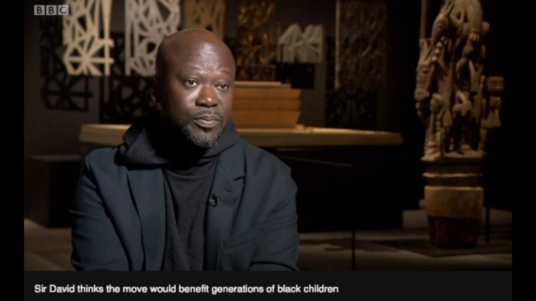 Sir David Adjaye, Architect.