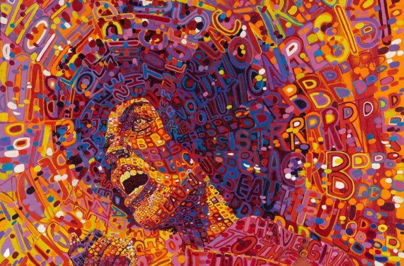 Revolutionary, 1971, by Wadsworth Jarrell.