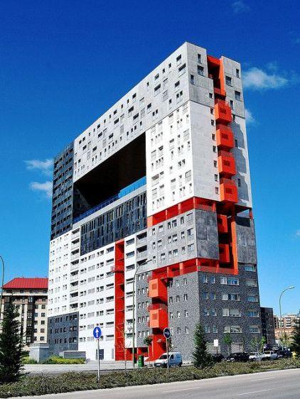 Mirador, Madrid, 2001. MVRDV and B. Lleo Architects.