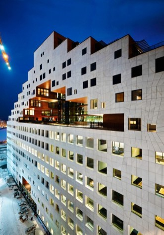 Mixed-use Building, Oslo, A-Lab Architects