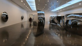 """Double S-Curve,"" Regen Projects Gallery"