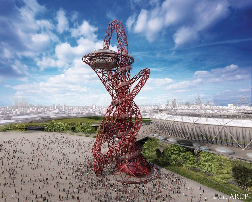 """Arcelor Mittal Orbit"" at London's Olympic Park"