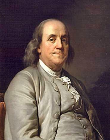 Benjamin Franklin, 1706-1790