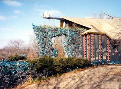 Price House, Bartlesville, OK, 1966. Architect: Bruce Goff.