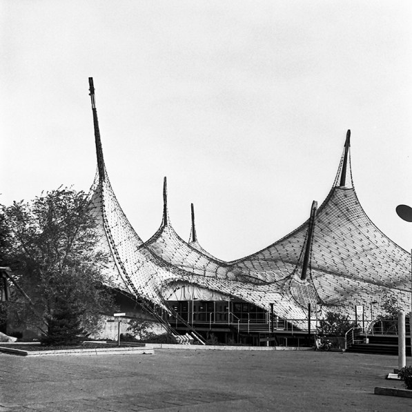 German Pavilion. Architect: Frei Otto. Photo: R&R Meghiddo.