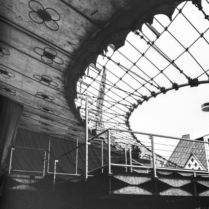 German Pavilion. Architect: Frei Otto. Photo: R&R Meghiddo.