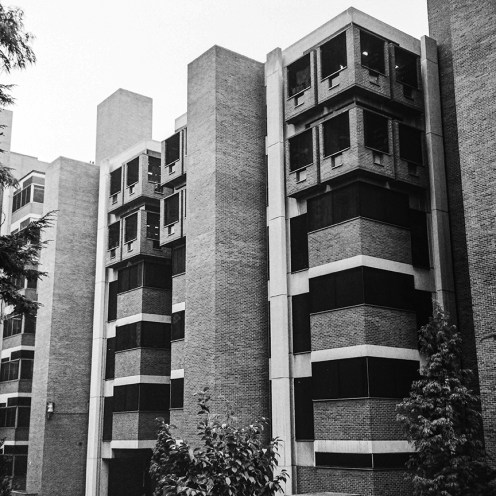 Richards Research Laboratories, ,University of Pennsylvania, 1965. Architect: Louis Kahn. Photo: R&R Meghiddo.