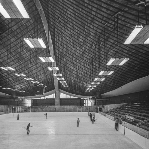 Ingalls Rink, Yale, 1958. Architect: Eero Saarinen. Photo: R&R Meghiddo.