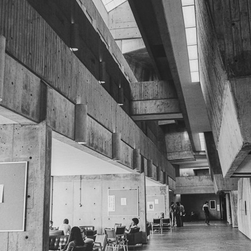 The University of Toronto at Scarborough, 1964. Architect: John Andrews. Photo: R&R Meghiddo.