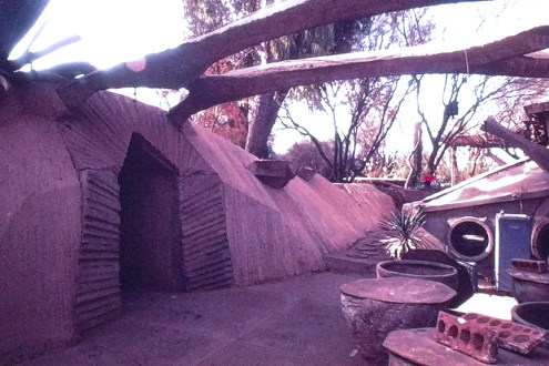 Paolo Soleri Residence and Studio, Scottsdale, AZ, 1971. Photo: R&R Meghiddo.