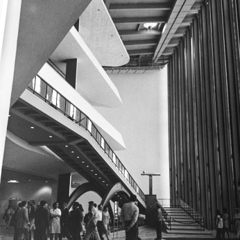 UN Building, 1952. Architect: Wallace harrison, Le Corbusier, Oscar Niemeyer. Photo: R&R Meghiddo.